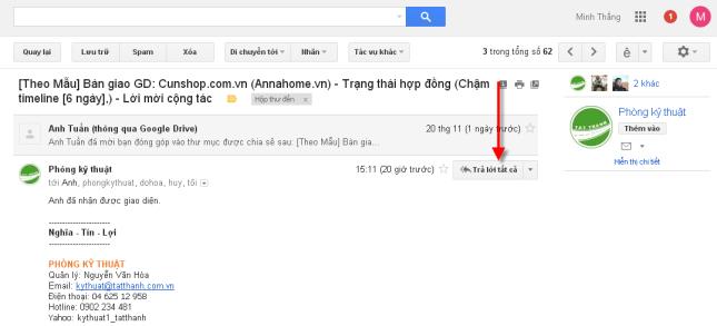 tra loi tat ca trong gmail 3