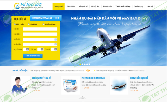thiet-ke-website-tim-ve-may-bay