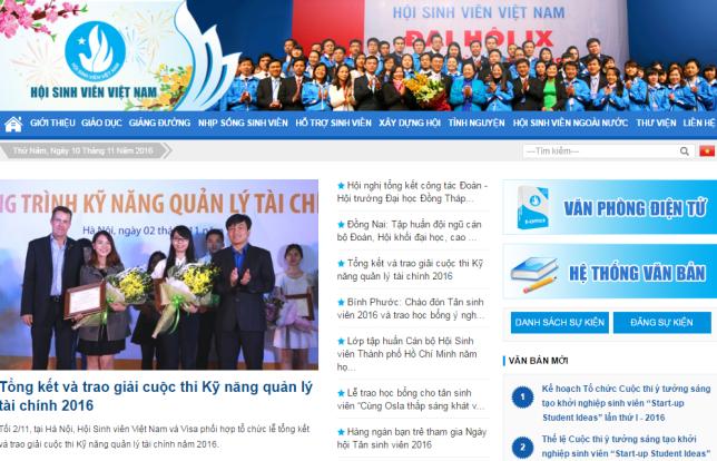 website-hoi-sinh-vien-viet-nam