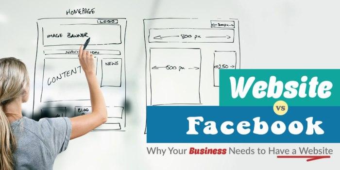 Sự phát triển của Facebook có làm suy yếu dịch vụ thiết kế website hay không?