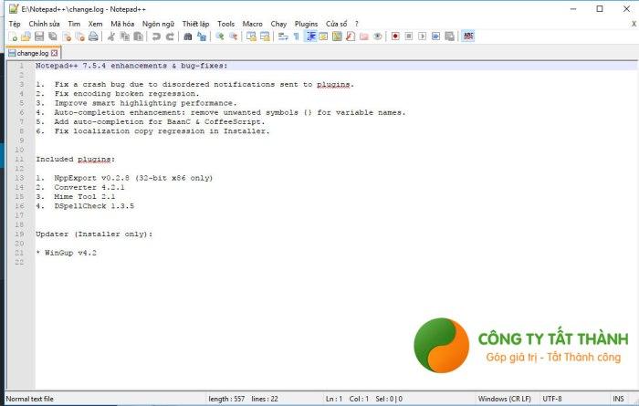 Hướng dẫn cài đặt Notepad++ bước 7