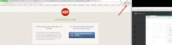 Cách chặn trang web tự mở trên Cốc Cốc bằng tiện ích Adblock Plus 4