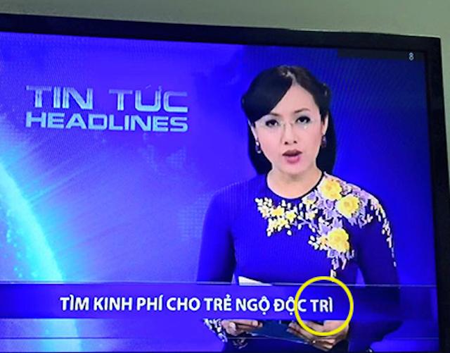 Lỗi Tr - Ch trên truyền hình
