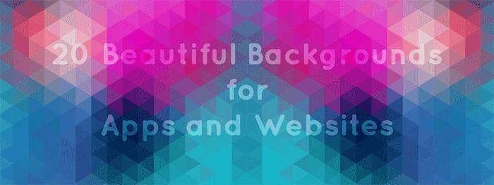 20+ Background đẹp cho website hút hồn người xem!